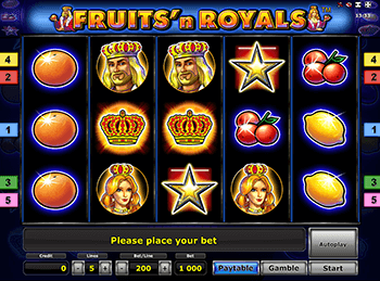 Fruits And Royals на зеркале клуба